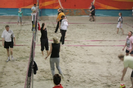 sfoto recreatief volleybal